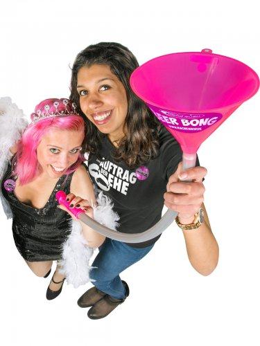 Imbuto umoristico pene rosa Headrush Beer bong®