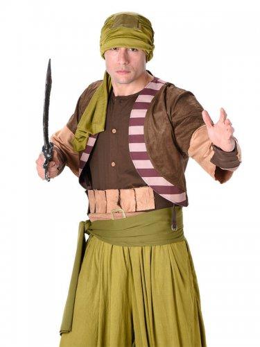 Costume guerriero del deserto per uomo-1