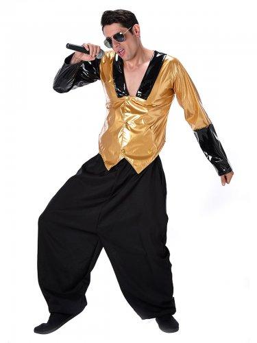brand new 184e9 6738f Costume da rapper degli anni 80 per uomo
