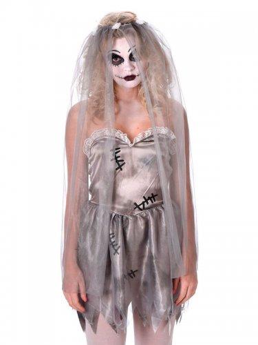 Costume da sposa fantasma per donna halloween-1