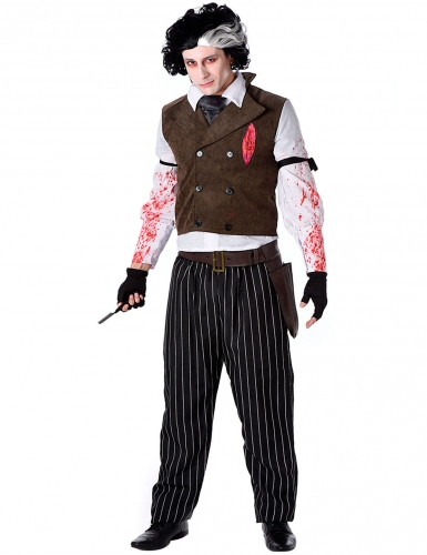 Costume barbiere assassino Halloween