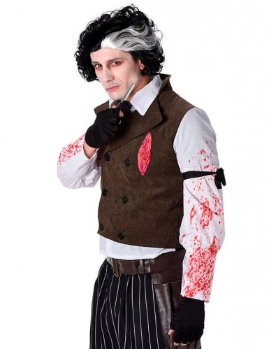 Costume barbiere assassino Halloween-1