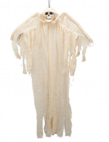 Decorazione per Halloween angelo scheletrico bianco a sospensione
