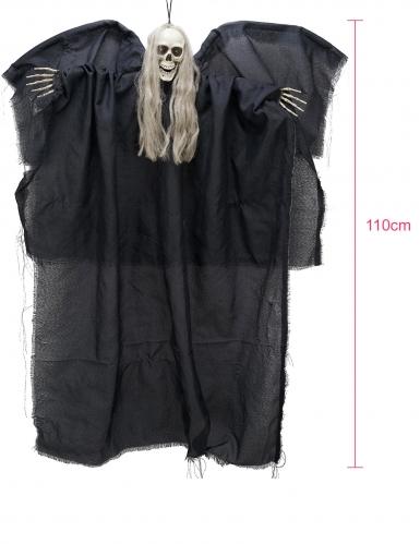 Decorazione per halloween angelo della morte luminoso 110 cm-1