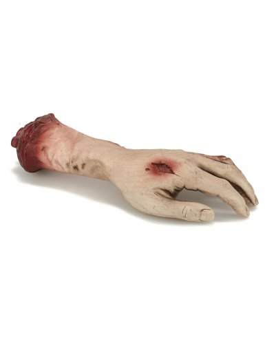 Decorazione per halloween mano sanguinante-1
