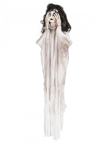 Decorazione animata per Halloween nero e bianca