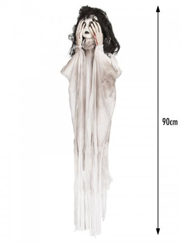 Decorazione animata per Halloween nero e bianca-1
