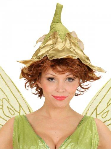 Cappello da fata dorata per donna