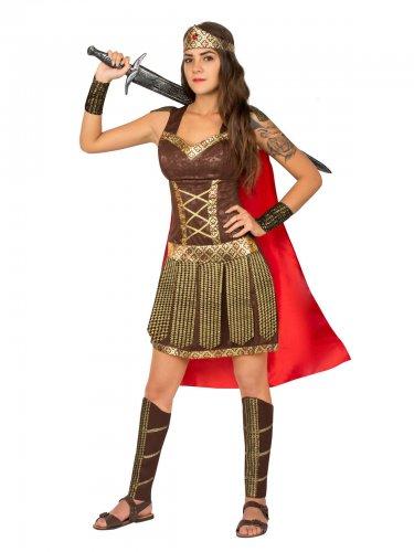 check out 54945 ee376 Costume gladiatrice antica roma per donna