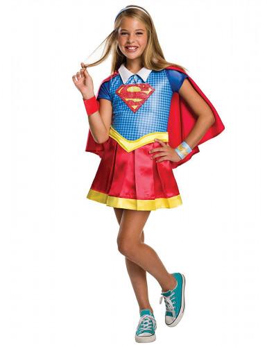 Costume Supergirl™ con colletto per bambina