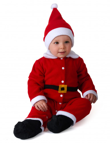 Costume da Babbo Natale per bebè
