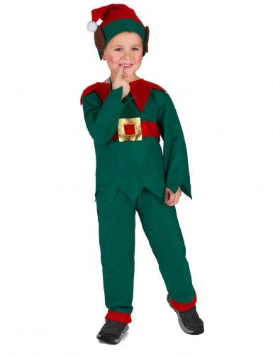 Costume da elfo di natale per bambina e bambino-2