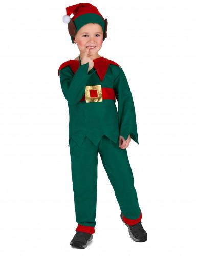 Costume da elfo di natale per bambini-2