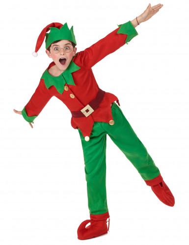 Costume Elfo di natale per bambino-4