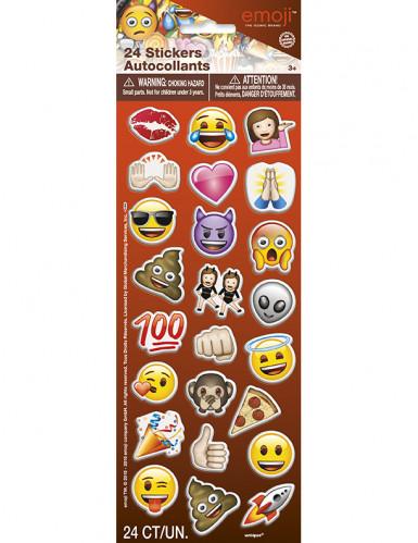 24 stickers adesivi Emoji™