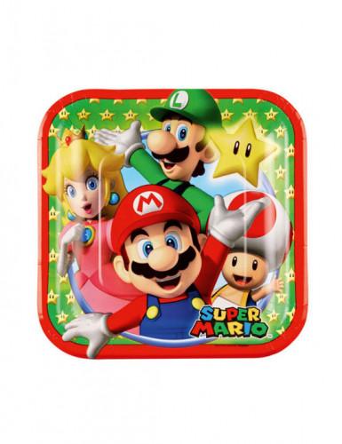8 Piattini di carta Super Mario™
