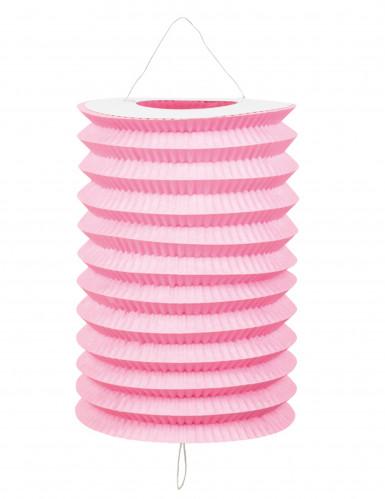 12 Lanterne di carta rosa