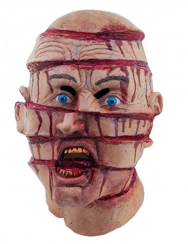 Maschera testa con tagli adulto