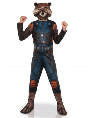 Costume con maschera Rocket Raccoon™ I guardiani della Galassia™ bambino