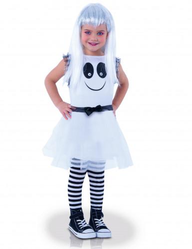 Vestito fantasma Halloween da bambino occhi mobili