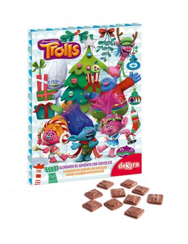 Calendario Avvento Cioccolato.Calendario Dell Avvento Con Cioccolato Trolls