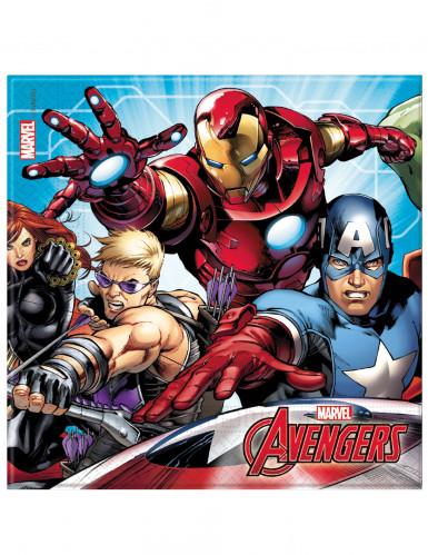 20 tovaglioli in carta Avengers Mighty™