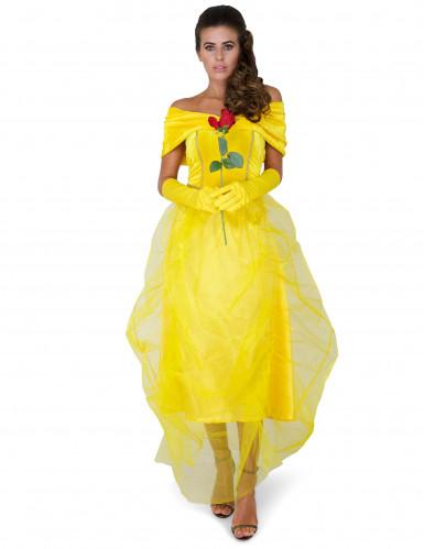 Costume la bella principessa per donna