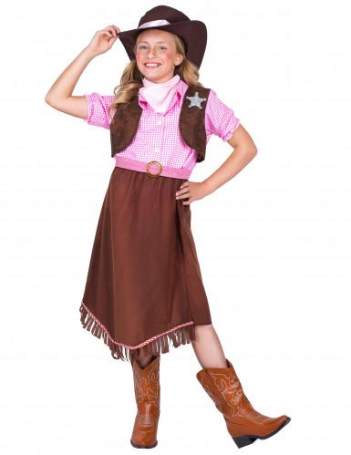 Costume da sceriffo per bambina