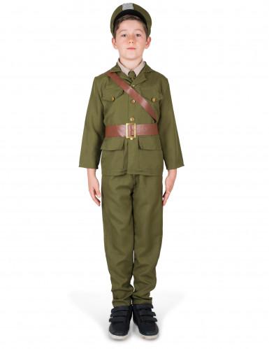 Costume ufficiale militare per ragazzo