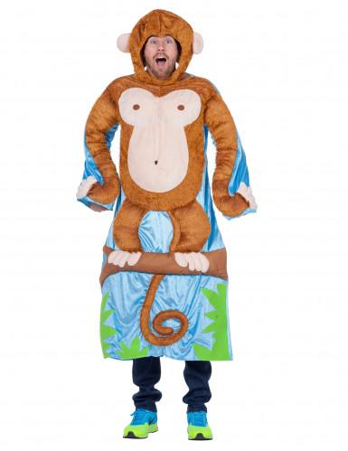 Costume da scimmia sull'albero per adulto