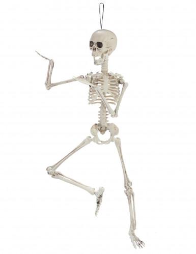 Decorazione per halloween scheletro mobile 48 cm