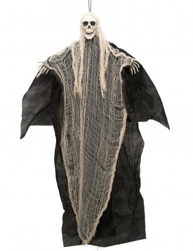 Decorazione per Halloween teschio della morte 110 cm