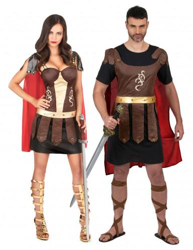 Costume coppia di gladiatori romani