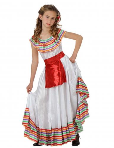 Costume messicano Bambina