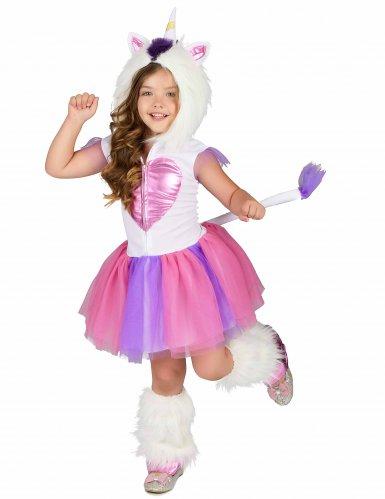 Costume Principessa Unicorno peluche bambina-1
