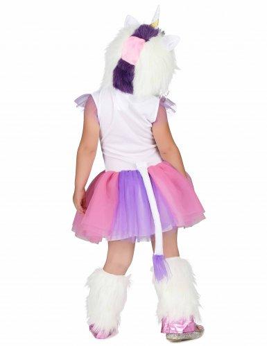 Costume Principessa Unicorno peluche bambina-2