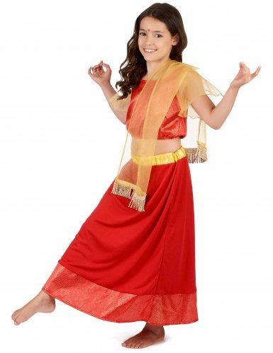 Costume da Principessa Ballerina Bollywood bambina-1