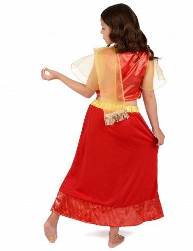 Costume da Principessa Ballerina Bollywood bambina-2