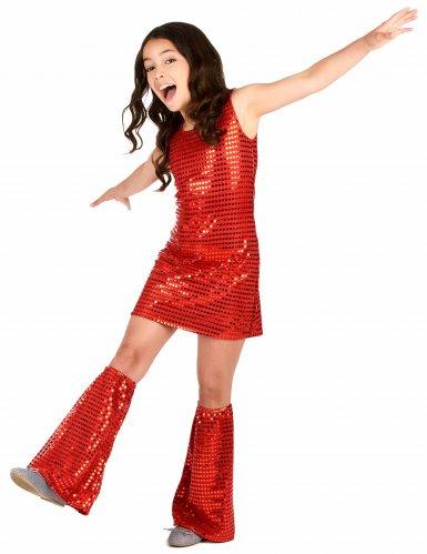 Costume disco rosso per bambina-1