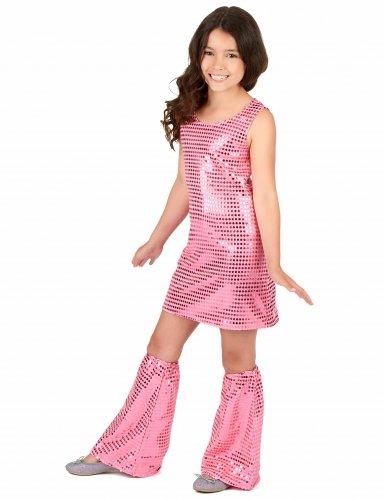 Costume disco rosa per bambina-1
