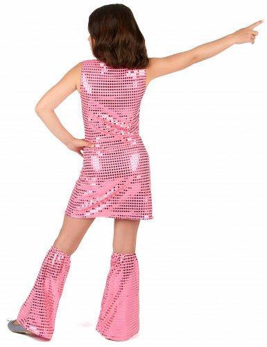 Costume disco rosa per bambina-2