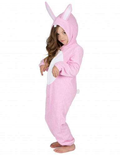 Costume da coniglio rosa per bambino-1