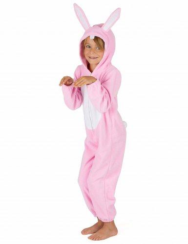 Costume da coniglio rosa per bambino-3