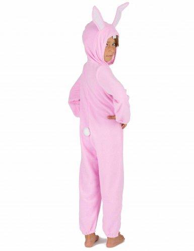 Costume da coniglio rosa per bambino-4