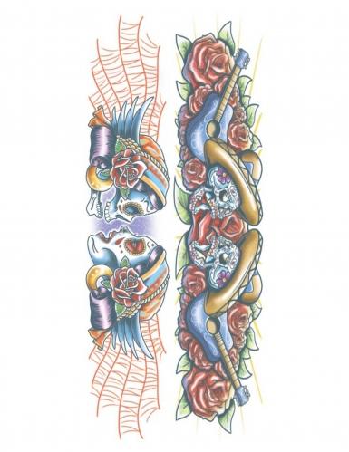 Tatuaggio temporaneo gipsy per adulto