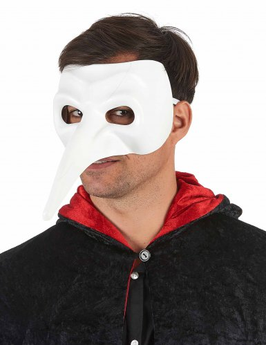 Masque con naso lungo da adulto