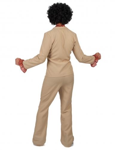 Costume disco beige per uomo-2