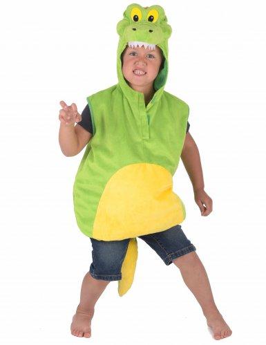 Costume da coccodrillo simpatico per bambino