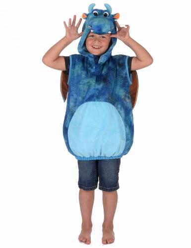 Costume da drago blu e arancione per bambino