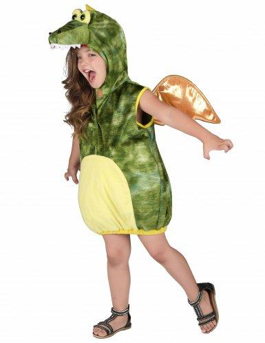 Costume da dinosauro verde per bambino-1